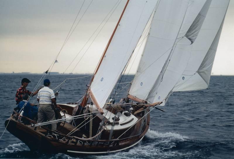 mini 12 meter sailboat